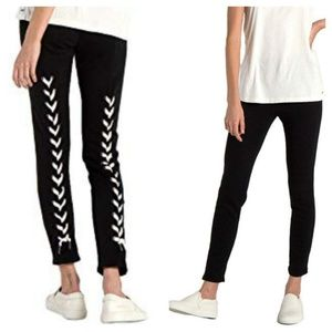 n:Philanthropy Reiko Lace Up Back Skinny Sweats
